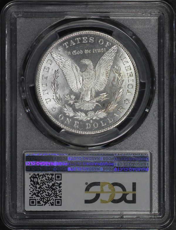 Reverse of this 1879-S Morgan Dollar PCGS MS-66+ CAC