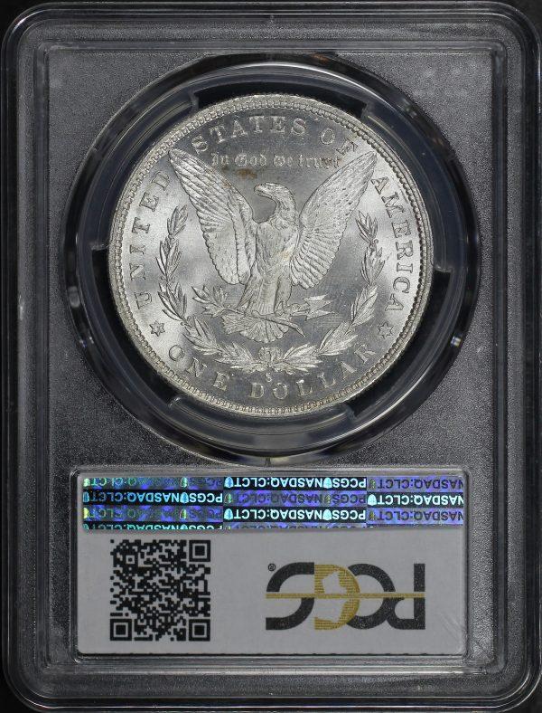 Reverse of this 1880-S Morgan Dollar PCGS MS-65