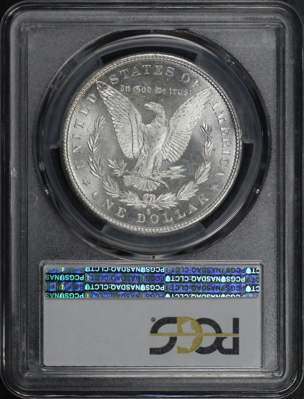 Reverse of this 1880-S Morgan Dollar PCGS MS-65