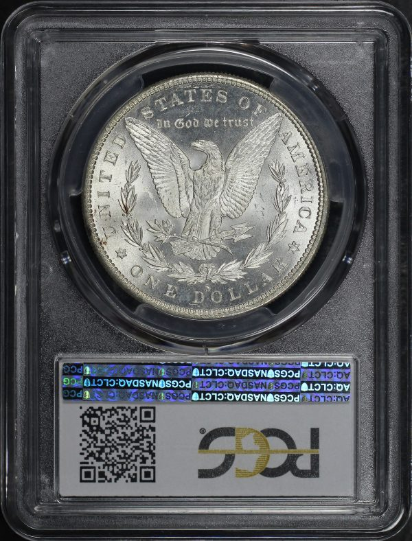 Reverse of this 1880-S Morgan Dollar PCGS MS-66