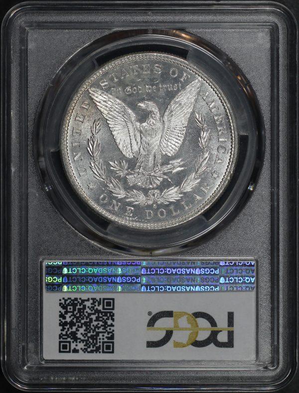 Reverse of this 1881-S Morgan Dollar PCGS MS-63