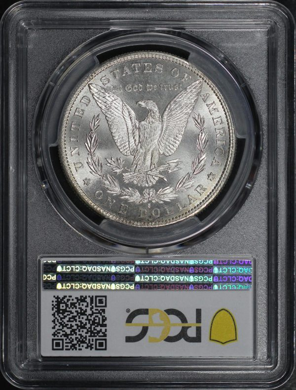 Reverse of this 1881-S Morgan Dollar PCGS MS-67 CAC