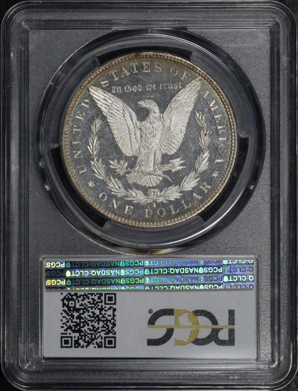 Reverse of this 1881-S Morgan Dollar PCGS MS-65 PL