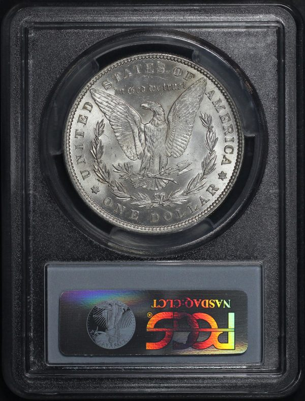 Reverse of this 1888 Morgan Dollar PCGS MS-62