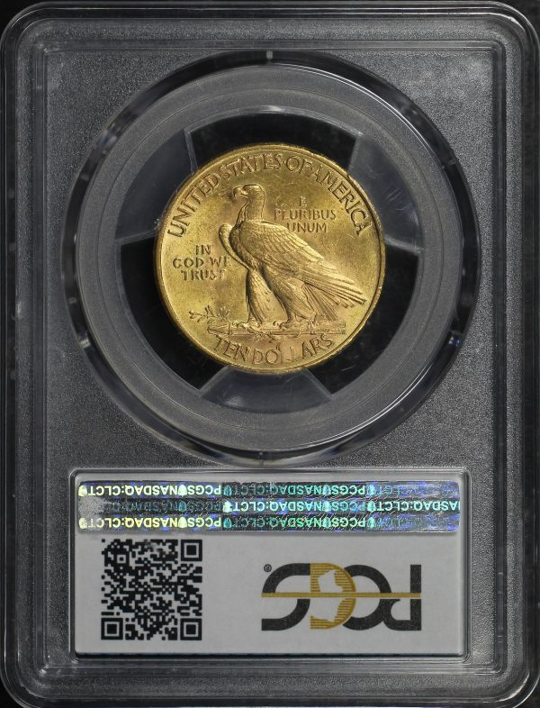 Reverse of this 1926 Indian $10 Motto PCGS MS-63