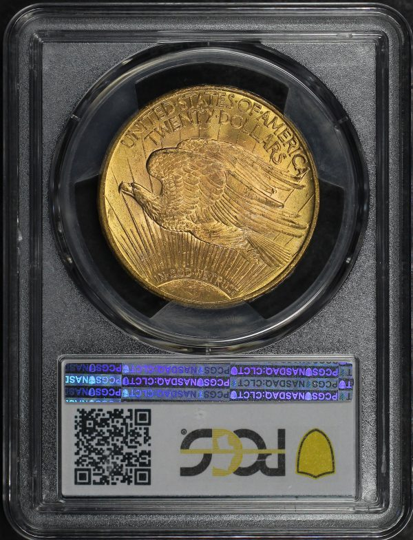 Reverse of this 1912 St. Gaudens $20 PCGS MS-62