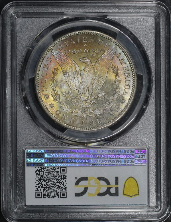 Reverse of this 1879-S Morgan Dollar PCGS MS-64