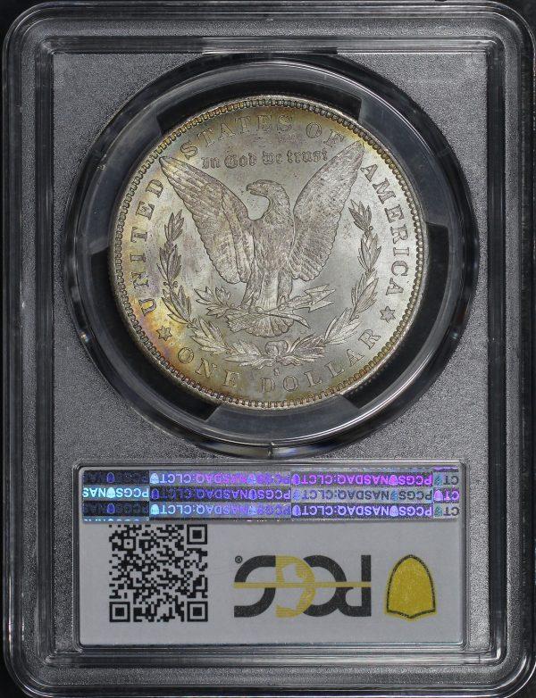 Reverse of this 1879-S Morgan Dollar PCGS MS-64