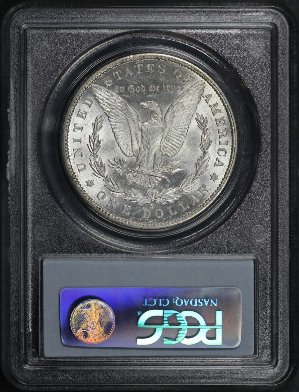 Reverse of this 1881-S Morgan Dollar PCGS MS-62