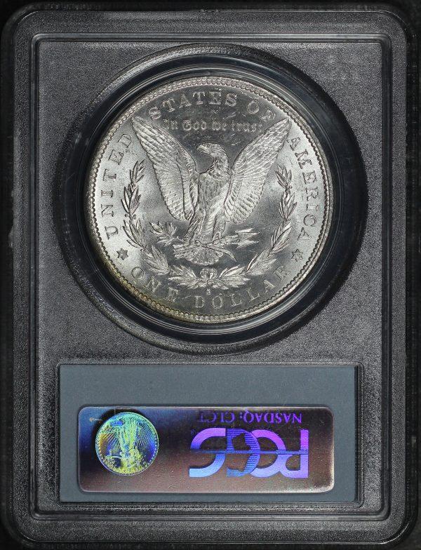 Reverse of this 1881-S Morgan Dollar PCGS MS-64