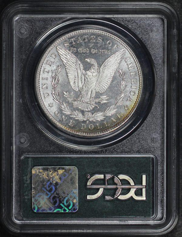 Reverse of this 1881-S Morgan Dollar PCGS MS-65