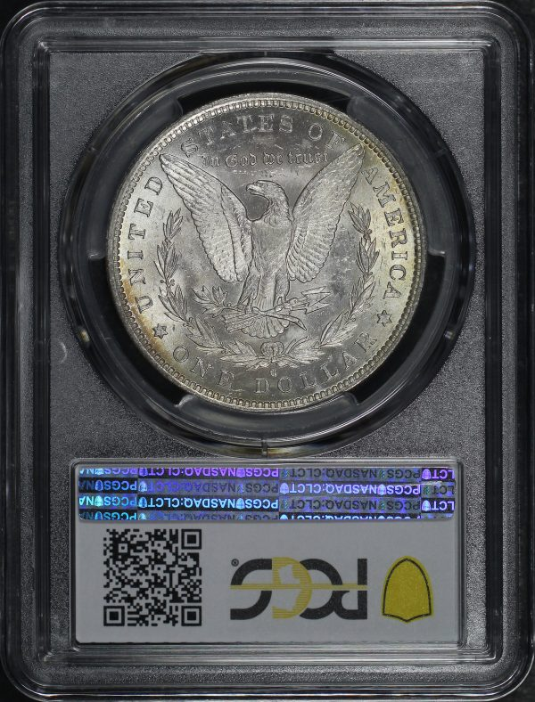 Reverse of this 1883-O Morgan Dollar PCGS MS-64