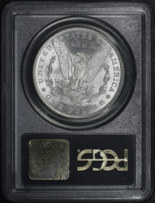 Reverse of this 1885-O Morgan Dollar PCGS MS-64