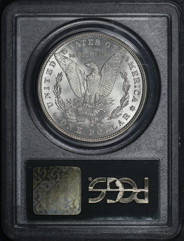 Reverse of this 1886 Morgan Dollar PCGS MS-64