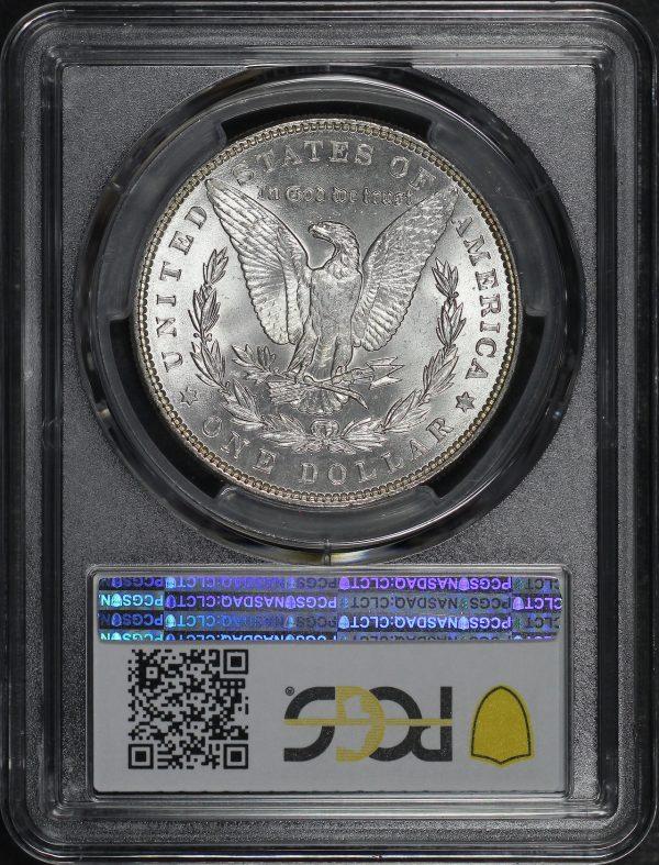 Reverse of this 1886 Morgan Dollar PCGS MS-64