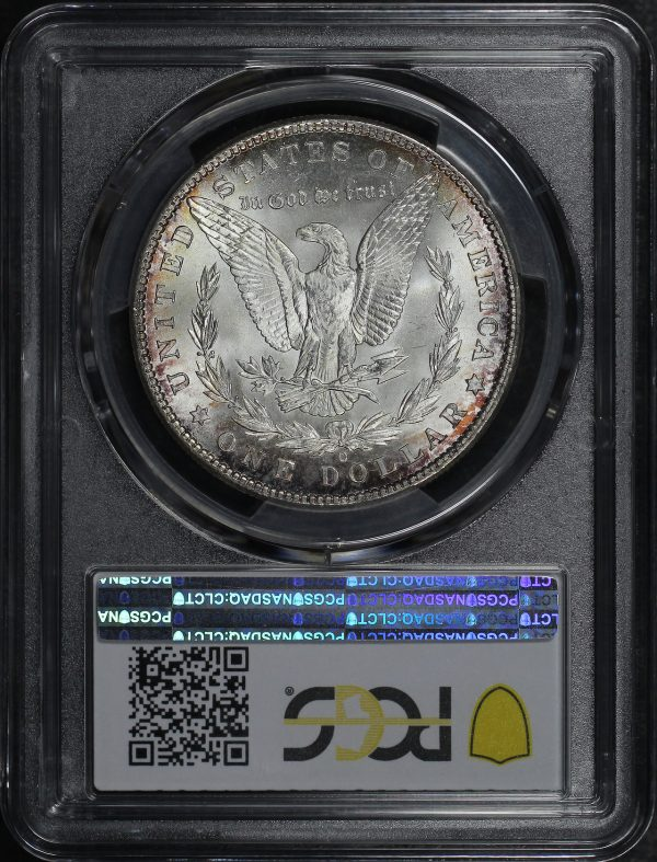 Reverse of this 1901-O Morgan Dollar PCGS MS-63
