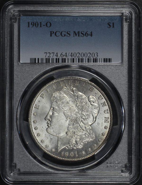 Obverse of this 1901-O Morgan Dollar PCGS MS-64