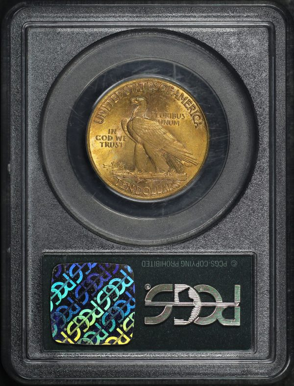 Reverse of this 1911 Indian $10 Motto PCGS MS-60