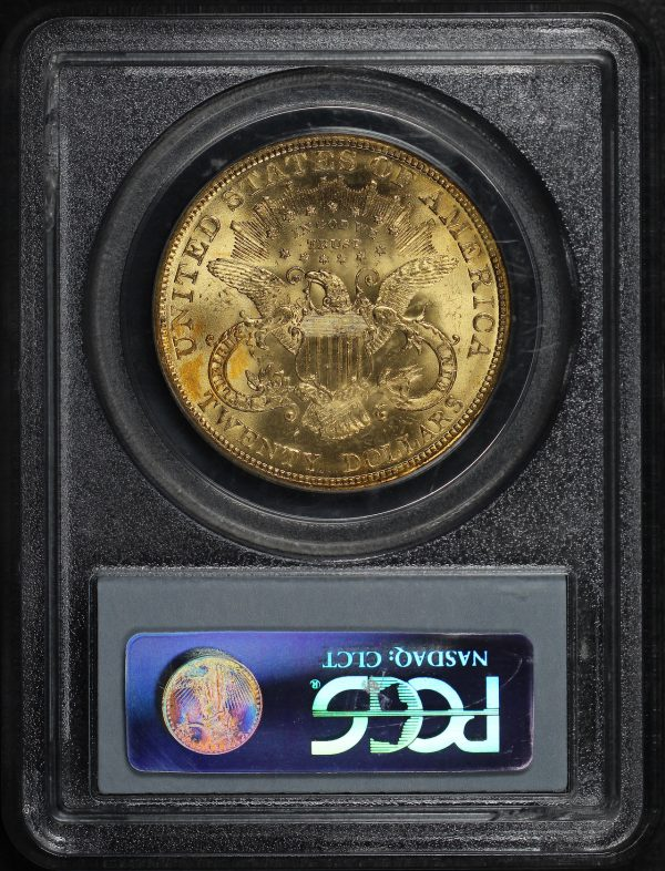 Reverse of this 1904 Liberty Head $20 Type 3 PCGS MS-63