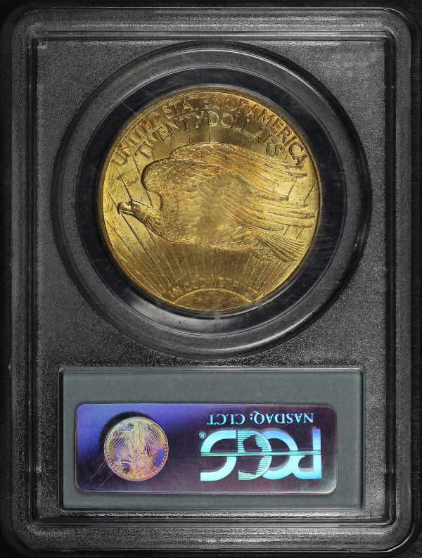 Gallery image of this 1914-S St. Gaudens $20 PCGS MS-64 CAC