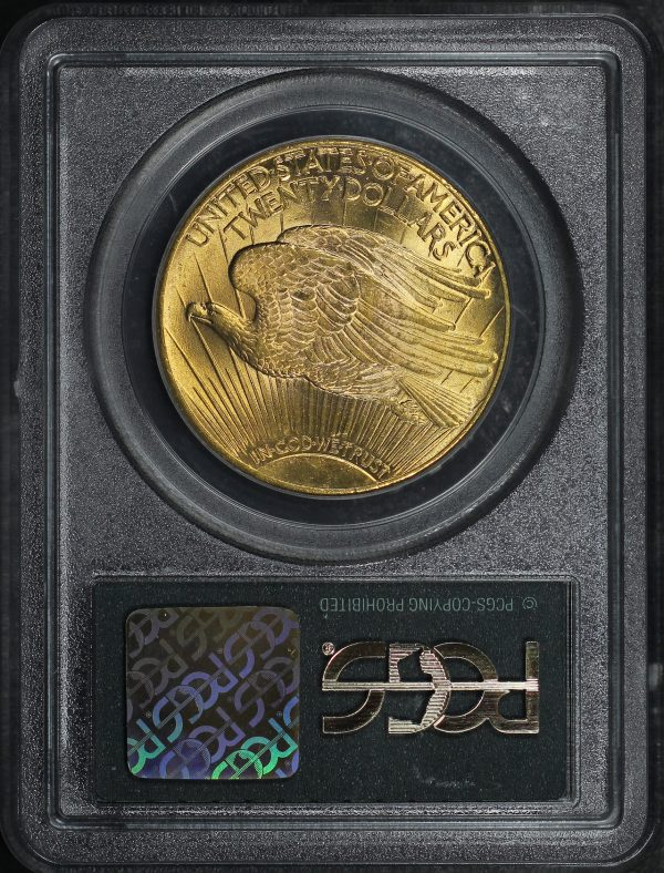Reverse of this 1927 St. Gaudens $20 PCGS MS-64