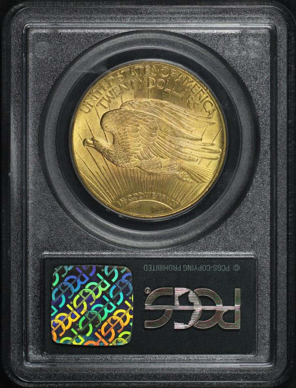 Reverse of this 1928 St. Gaudens $20 PCGS MS-63