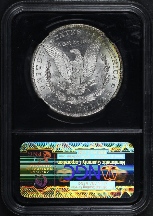 Reverse of this 1881-S Morgan Dollar NGC MS-65 Mapes Casino Hoard