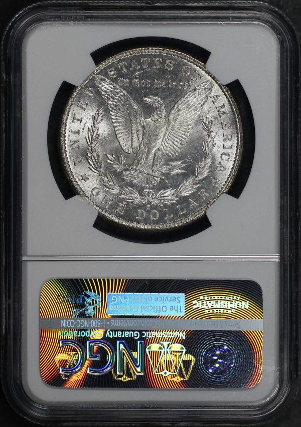 Reverse of this 1881-S Morgan Dollar NGC MS-65