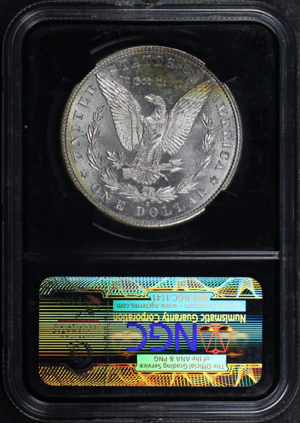 Reverse of this 1881-S Morgan Dollar NGC MS-66 Mapes Casino Hoard