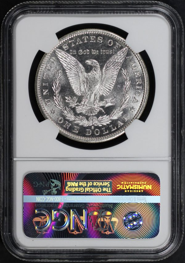 Reverse of this 1881-S Morgan Dollar NGC MS-66