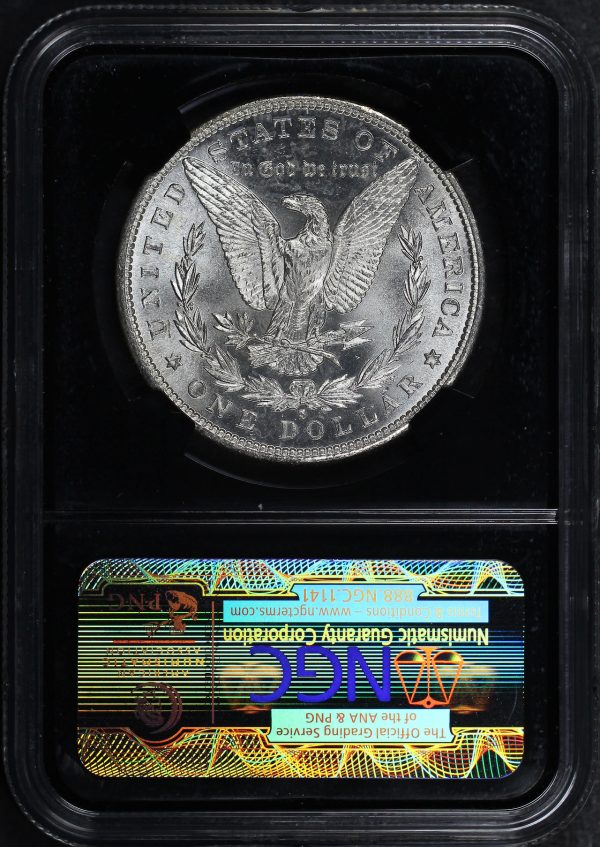 Reverse of this 1881-S Morgan Dollar NGC MS-67 Mapes Casino Hoard