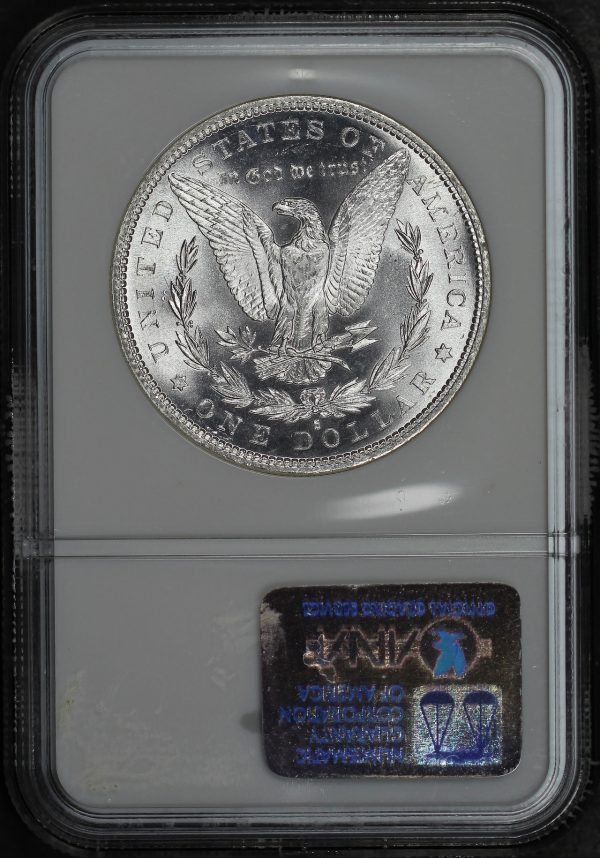 Reverse of this 1882-S Morgan Dollar NGC MS-65