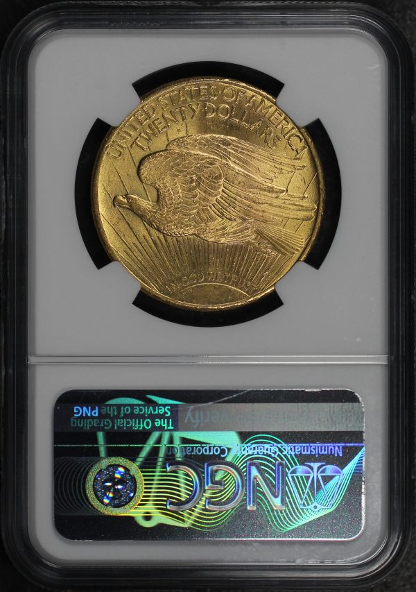 Reverse of this 1924 St. Gaudens $20 NGC MS-64