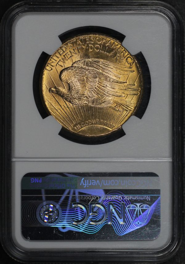 Reverse of this 1926 St. Gaudens $20 NGC MS-64