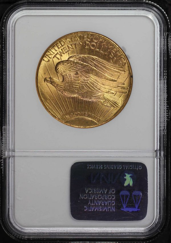 Reverse of this 1927 St. Gaudens $20 NGC MS-64