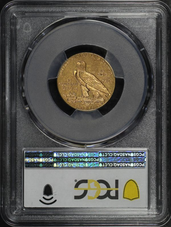 Reverse of this 1913 Indian $5 PCGS MS-61