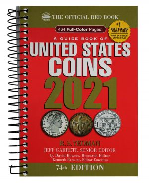 Obverse of this 2021 United States Coin Red Book