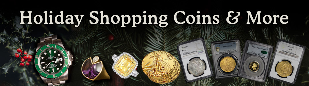 Holiday Shopping Coins & More